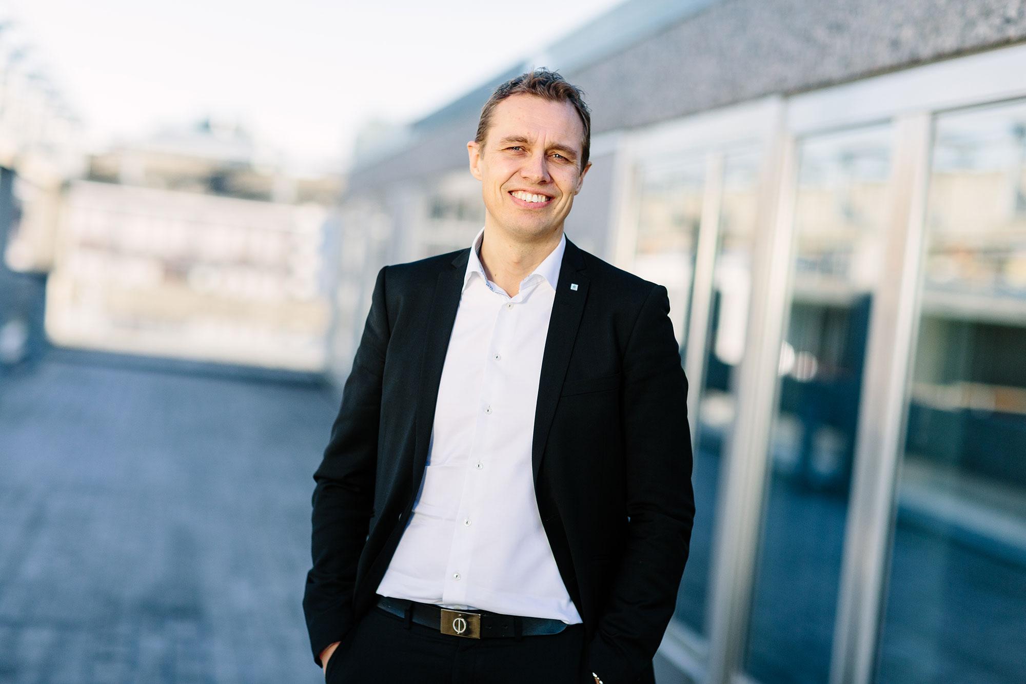 Regiondirektør NHO Troms og Svalbard, Christian Chramer.